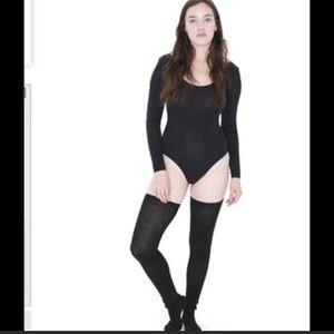 American Apparel Long Sleeve Bodysuit